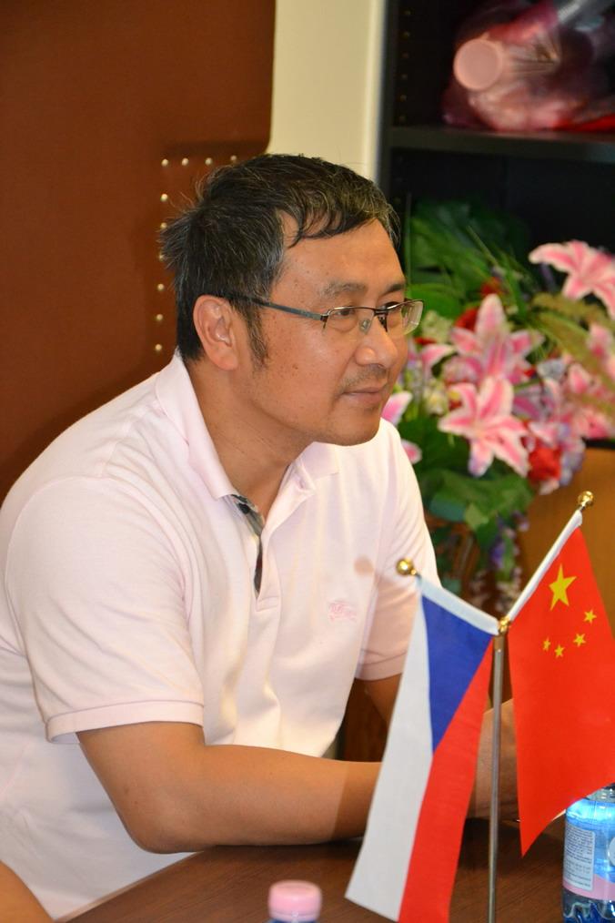 ▲捷克华商联合会常务副会长 占海灵