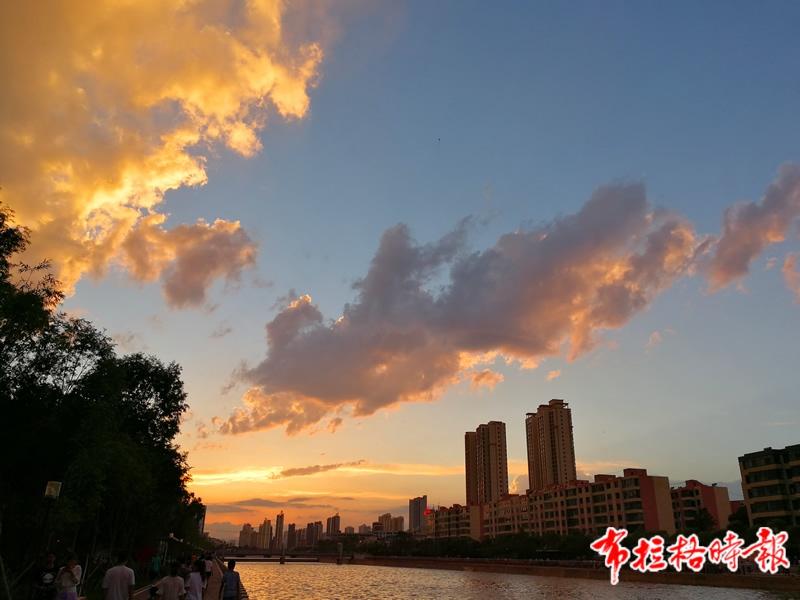 西宁湟水河